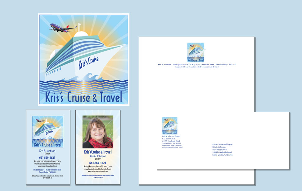 Logo, letterhead, envelope and business card design in Santa Clarita | Margolis-West Graphics