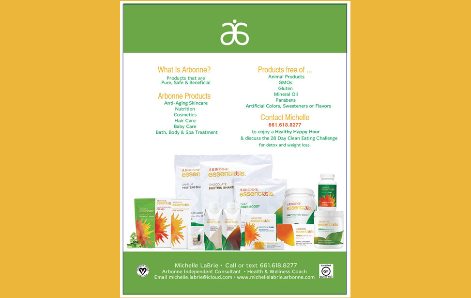 Arbonne International product overview