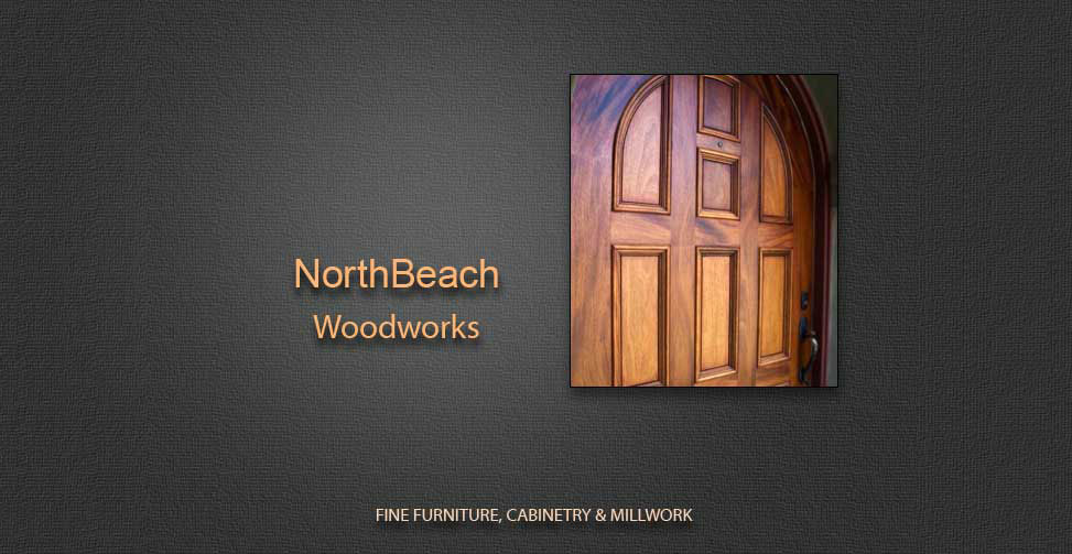 Web presence created for a manufactrer of fine hand-crafted wood furniture